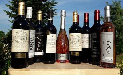 Wijndegustatie, geschenken en verdeelpunten